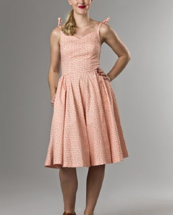 Emmy - Malibu Beach dress peach cotton