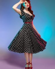 dolores-doll-dress-polka-zwart 3