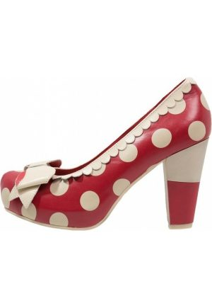 Pumps-Lola-Ramona-ANGIE-P-Plateaupumps-red-cream