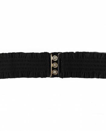 sarah retro belt black