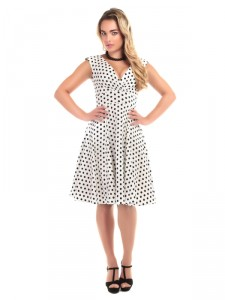 Pamela Polka Dot Doll Dress