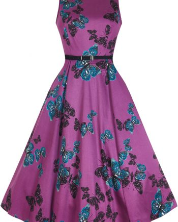 Dress Purple Butterfly