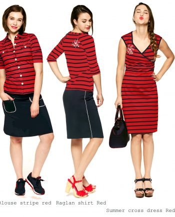 ov stripes red