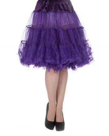 petticoat paars lengt 27