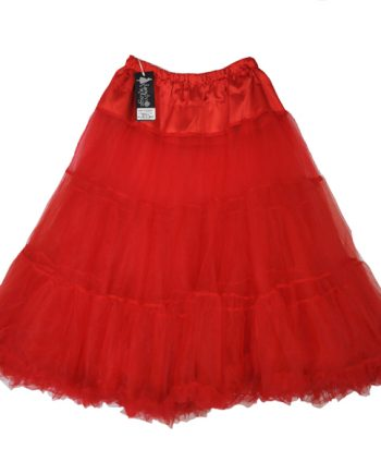 petticoat red triple layer