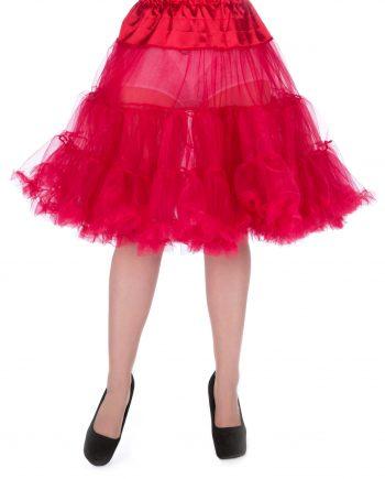 petticoat rood 23 lengte