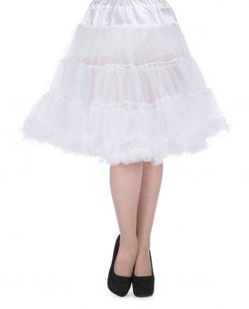 petticoat wit 58 cm