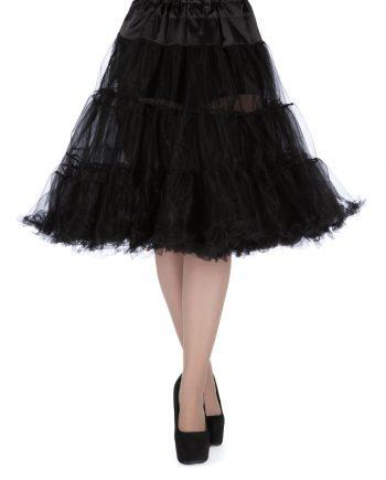 petticoat zwart 58 cm