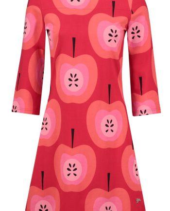 Mollie Dress Big Apple rood