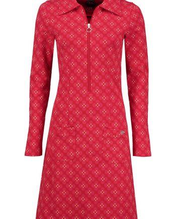 zippie jurk blossom rood