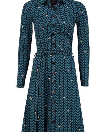 Shirt dress Pieper blue