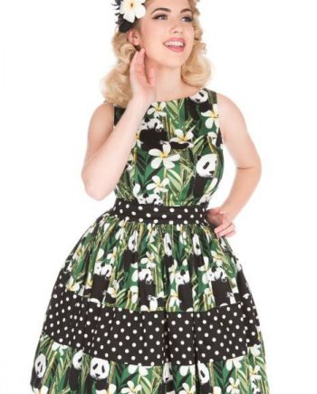Lady Vintage Dinah Tea Dress Panda
