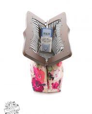 Pink Floral Clutch Bag3