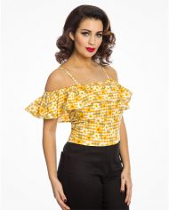 charo-yellow-gingham-floral3845