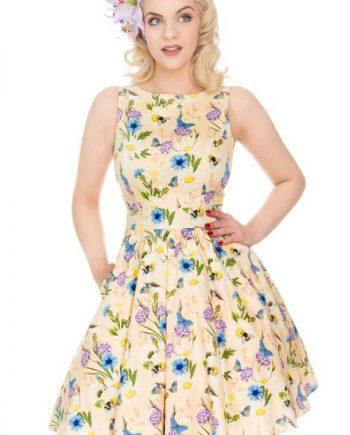 Lady Vintage tea dress