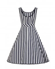 lucille-striped-swing-dress-collectif achterkant
