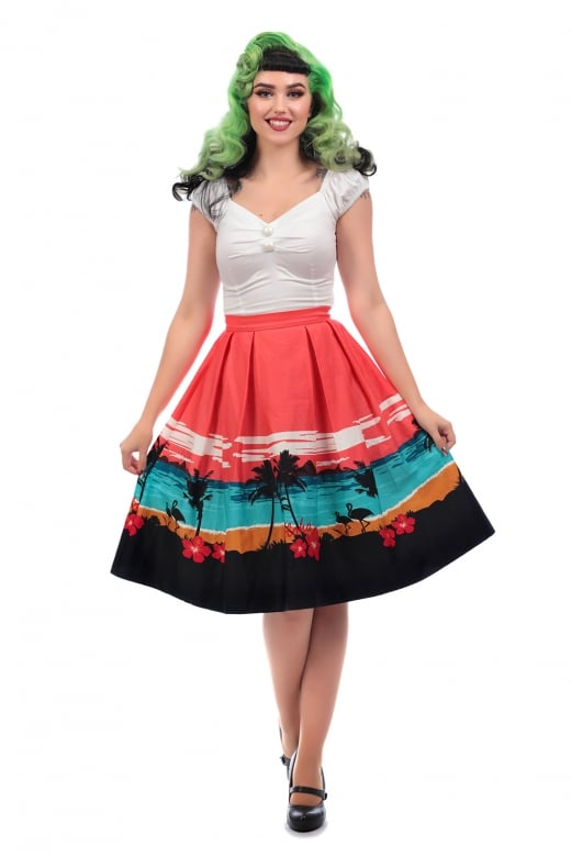 Collectif Mainline Marilu Aloha Border Swing