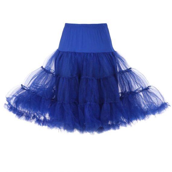 blauwe petticoat
