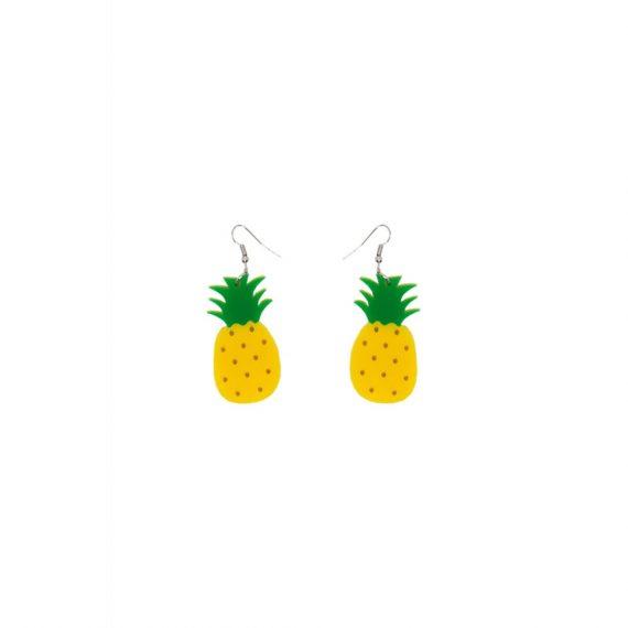 ananas oorbellen