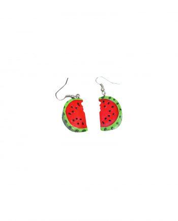 watermeloen oorbellen