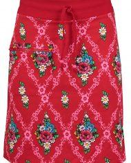 Zipper skirt Gardenia Red