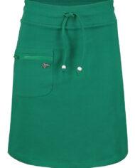 skirt_zipper_solid_green