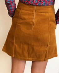 Bakery Ladies rok Corduroy bronze 2