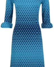 Dress Sterre Triangle Blue (2)