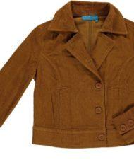 jacket corduroy bronze