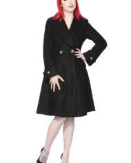 Banned vintage coat black 2