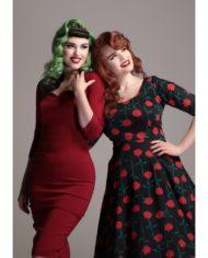 amber-rose-stem-swing-dress 1