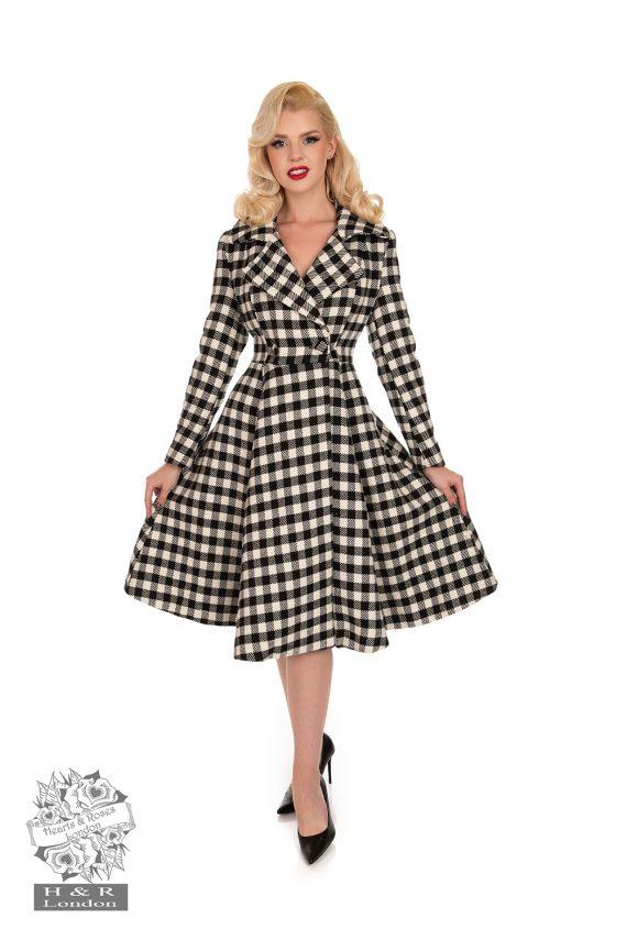 Heather Swing Coat