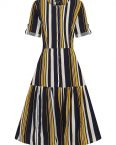 Vera stripes dress