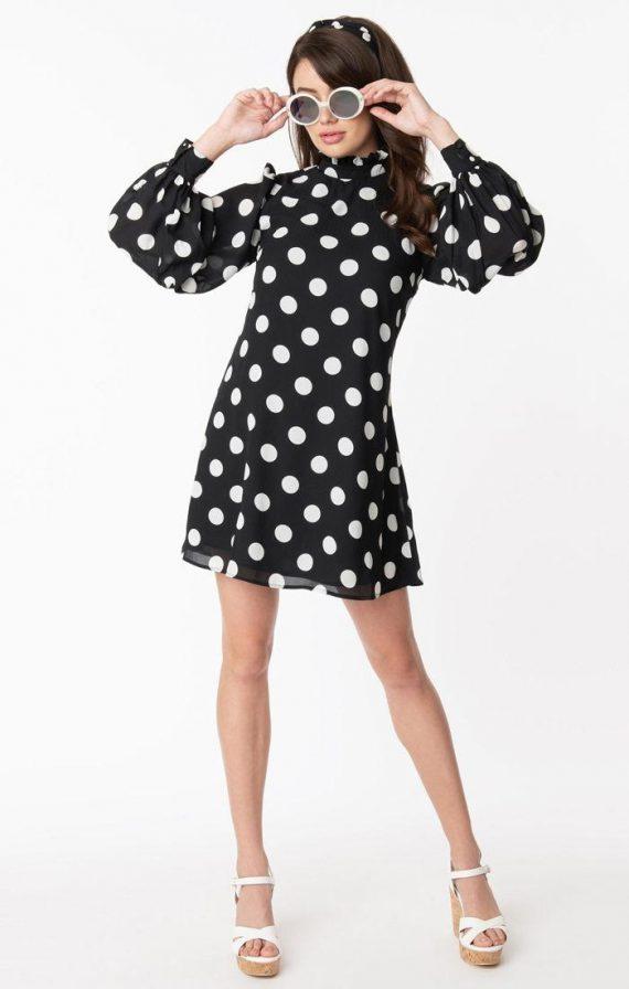 Twiggy style dress